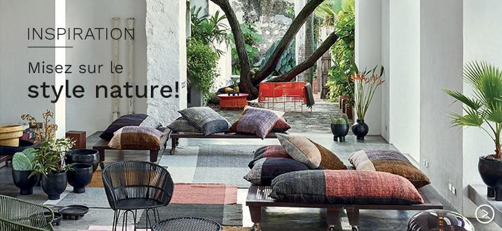 Misez sur le style nature pour votre salon !