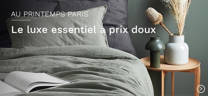 Au Printemps Paris : Le luxe essentiel à prix doux