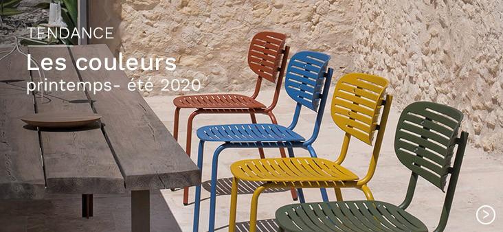 Les couleurs printemps-été 2020