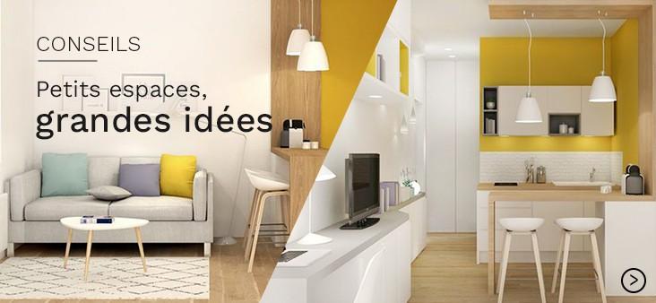 Petits espaces, grandes idées !